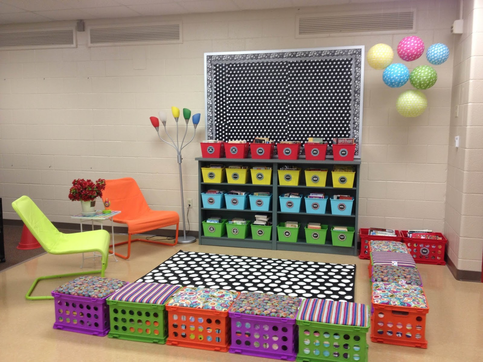 Classroom Theme Ideas For Reading ~ Classroom reading nook ideas