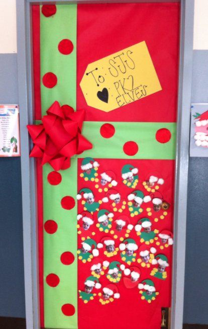 Christmas Classroom Door Decorations With Oh Christmas Door Decorations
