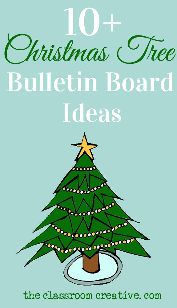 Christmas Tree Bulletin Board Ideas