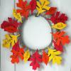 Gratitude Wreath Craft with Free Leaf Templates