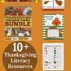 Thanksgiving Literacy Resources for Teachers and Homeschoolers