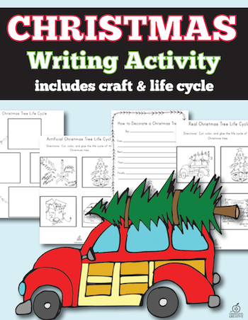 decorate your tree writing activity
