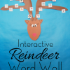 Reindeer Word Wall {With *Free* Template}