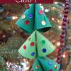 Upcycled Christmas Tree Ornament