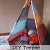 DIY Teepee Reading Nook