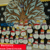 Winter Sight Word Bulletin Board Idea
