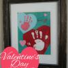 Valentine's Day Keepsake Handprint Art