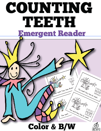 dental health month literacy, dental health month, tooth fairy books