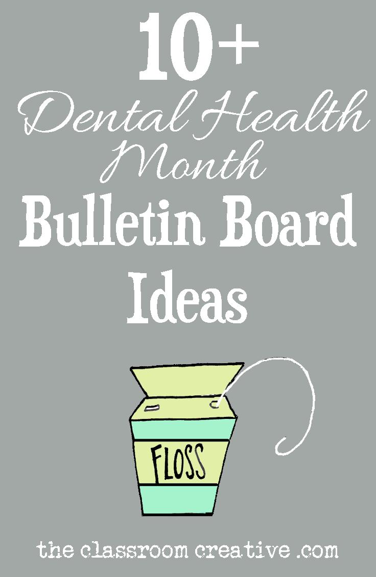 Dental Health Bulletin Boards