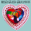 How to Make Recycled Crayon Valentines