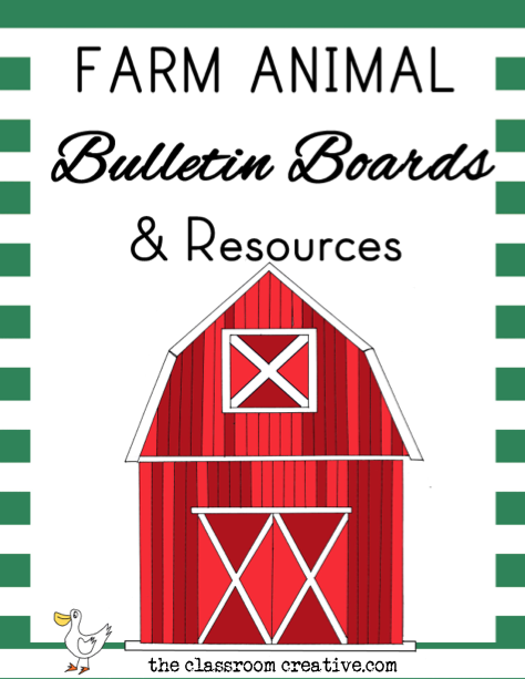 farm animal ideas units printables