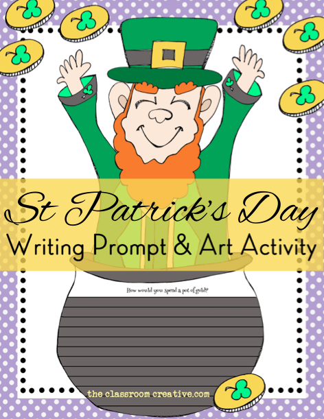 St Patrick S Day Literacy Ideas For Second Grade