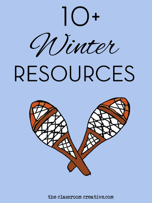 winter resource activities for kids literacy writing prompts science polar bear