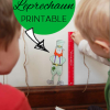 Free St. Patrick's Day Math Center Activity: How Tall Am I Compared to a Leprechaun?