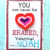 Free Printable Eraser Valentines