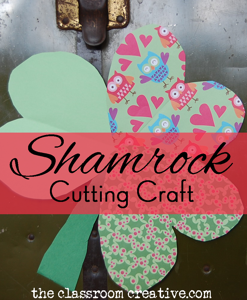 shamrock clover fine motor activities ideas for st patrick's day