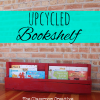 Upcycled Pallet Book Bin