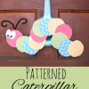 Patterned Caterpillar Craft for Kids