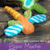 Paper Mache Dragonfly Craft for Kids