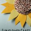 Upcycled Sunflower Craft