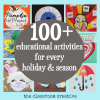 100+ Holiday and Seasonal Crafts, Activities, and Ideas for Kids