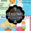 Fall, Winter, Spring & Summer Activities Bundle