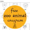 Zoo Literacy Center: Animal Anagrams