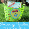 Summer Reading Idea: Books on the Go Book Bin