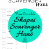 Outdoor Scavenger Hunt {finding shapes} Using Photography