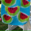 Watermelon Tie Dyed Tote Craft for Kids