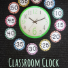 Classroom Clock Number Labels & Time Activity