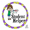 Classroom Management Idea: Free Printable Student Helper Job