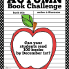 Autumn Book Challenge: Read 100 Books by December 1st (Free Printable Book Log and Challenge Sign)