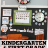 Homeschool Classroom Reveal: Kindergarten Calendar/Morning Meeting Area