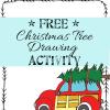 Free Printable Christmas Drawing Activity