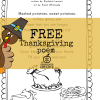 Free Printable Thanksgiving Poem for Kids