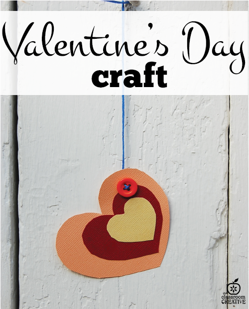valentines day craft and art activity