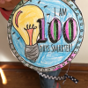100th Day of School Activity: Free Printable 100 Days Smarter Medal
