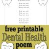 Dental Health Month Poem: Brush Your Teeth!