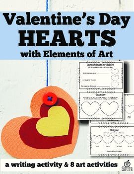 elements of art with valentine's day hearst