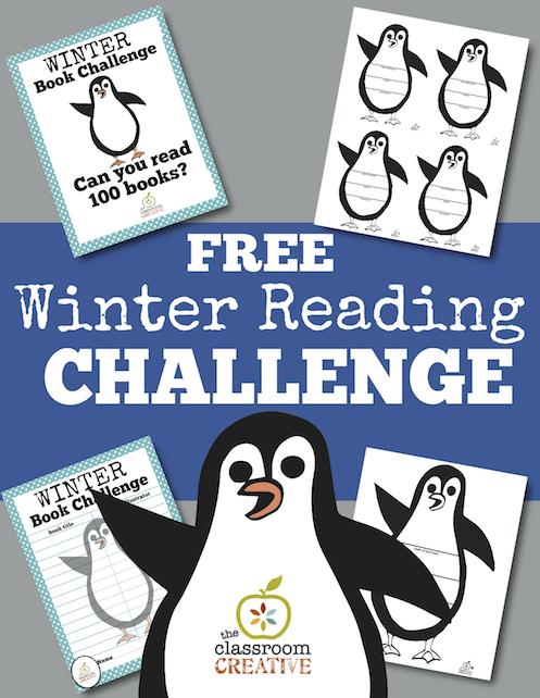 winter reading challenge, winter literacy
