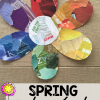 Spring Flower Color Wheel Activity