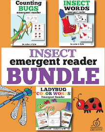 Insect emergent reader bundel