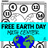 Free Earth Day Math Center