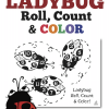 Free Spring and Summer Math Game: Ladybug Roll, Count, and Color