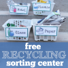 Free Earth Day Recycling Sorting Center