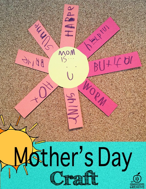 Mother S Day Sun Craft