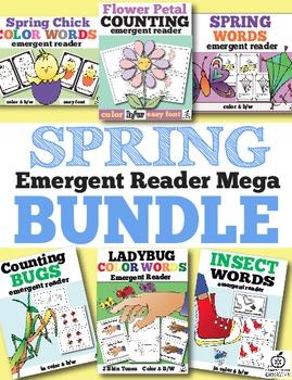 spring emergent reader bundle