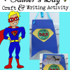 Father's Day Craft and Writing Activity