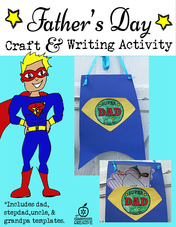 Father S Day Craft And Writing Activity